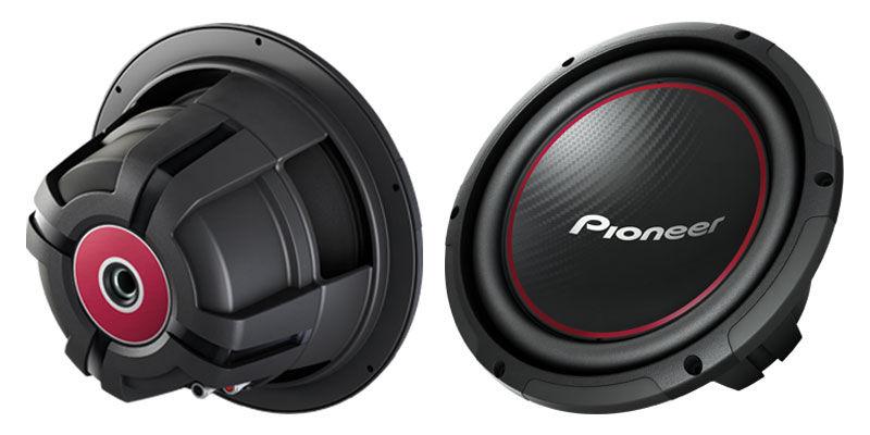 Сабвуфер автомобильный PIONEER TS-W254R,  1100Вт