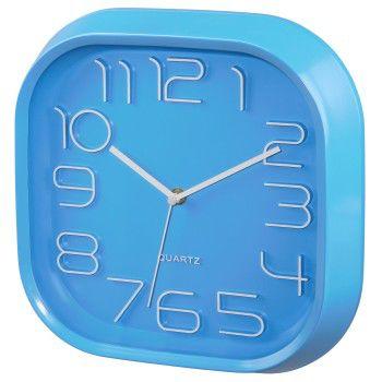 Настенные часы HAMA PG-280, аналоговые,  голубой