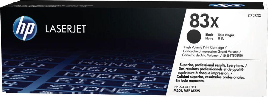 Картридж HP 83X черный [cf283x]