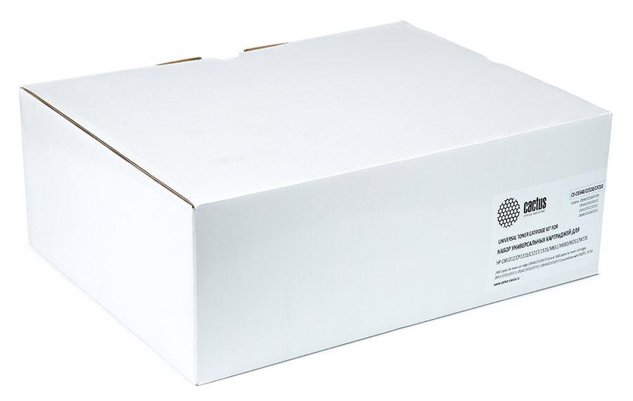 Набор картриджей CACTUS CS-CB540/CF320/CF210 черный / голубой / пурпурный / желтый