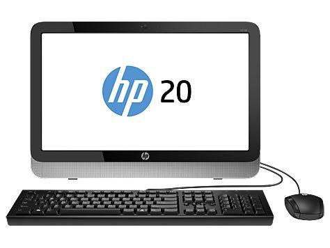 Моноблок HP Pavilion 20-2303ur, AMD E1 6010, 2Гб, 500Гб, AMD Radeon R2, DVD-RW, Ubuntu, черный и серебристый [l6j48ea]