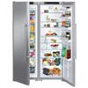 Холодильник LIEBHERR SBSesf 7212 (SGNESF 3063 + SKESF 4240),  двухкамерный, серебристый вид 3