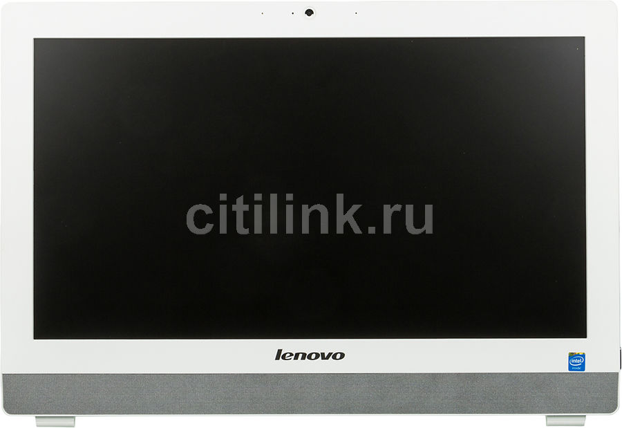 Моноблок LENOVO S20-00, Intel Celeron J1800, 4Гб, 500Гб, Intel HD Graphics, DVD-RW, Free DOS, белый [f0ay0042rk]