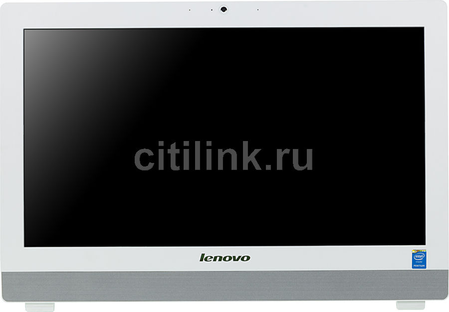 Моноблок LENOVO S20-00, Intel Pentium J2900, 4Гб, 500Гб, Intel HD Graphics, Free DOS, белый [f0ay0049rk]