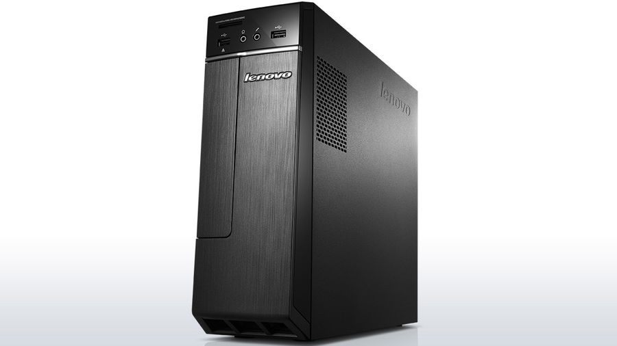 Компьютер  LENOVO H30-00,  Intel  Celeron  J1800,  DDR3 2Гб, 500Гб,  Intel HD Graphics,  DVD-RW,  CR,  Windows 8.1,  черный [90c2000nrs]