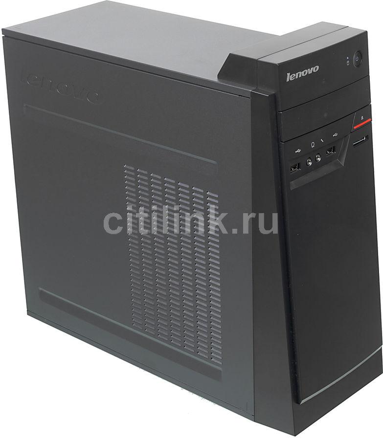 Компьютер  LENOVO E50-00,  Intel  Celeron  J1800,  DDR3 2Гб, 500Гб,  Intel HD Graphics,  DVD-RW,  CR,  Free DOS,  черный [90bx003frk]