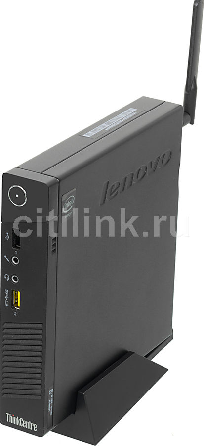 Компьютер  LENOVO ThinkCentre M53 Tiny,  Intel  Celeron  J1800,  DDR3 2Гб, 500Гб,  Intel HD Graphics,  Free DOS,  черный [10de0014ru]