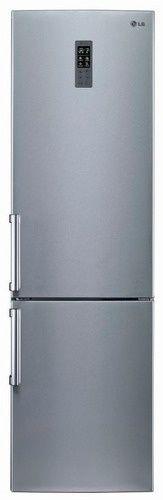 Холодильник LG GW-B489YMQW,  двухкамерный,  серебристый
