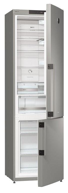 Холодильник GORENJE NRK61JSY2X2,  двухкамерный,  нержавеющая сталь