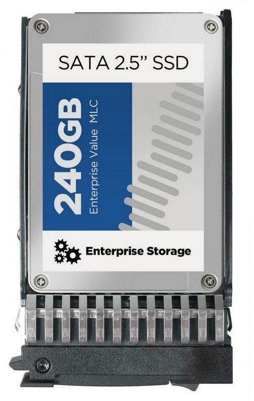 Накопитель SSD HPE 1x240Gb SATA 728735-B21
