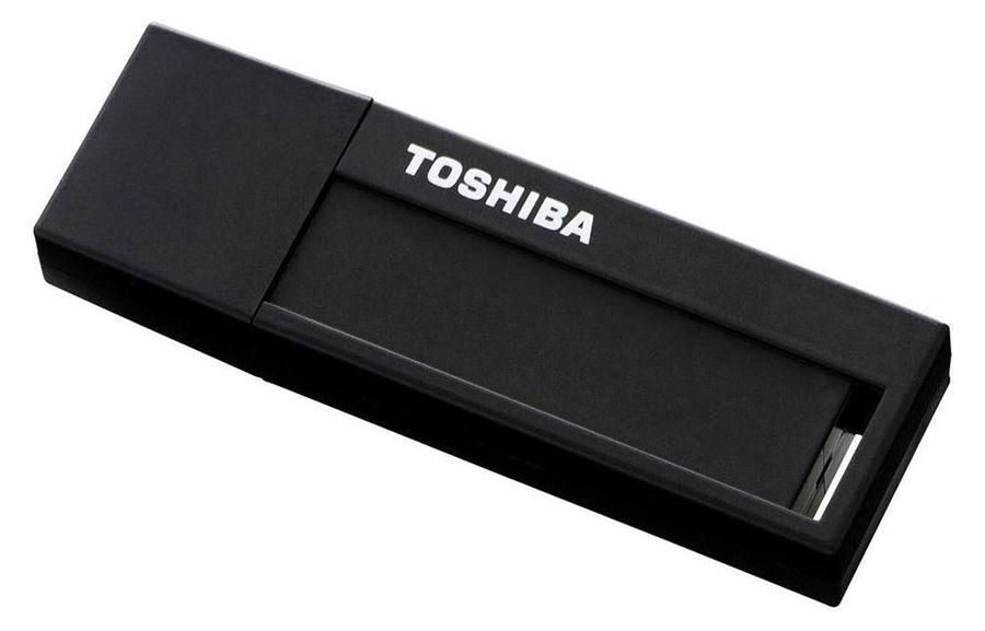 Флешка USB TOSHIBA Daichi U302 8Гб, USB3.0, черный [thn-u302k0080m4]