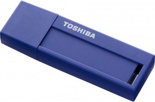 Флешка USB TOSHIBA Daichi U302 32Гб, USB3.0, голубой [thn-u302b0320m4]