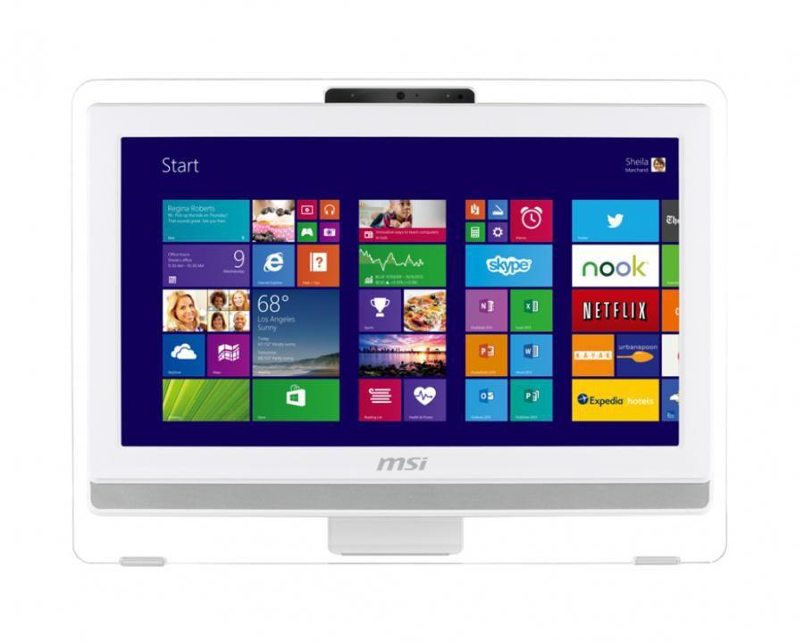 Моноблок MSI AE201-069RU, Intel Core i3 4160, 4Гб, 500Гб, Intel HD Graphics, DVD-RW, Windows 8.1, белый [9s6-aa8212-069]