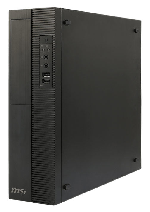 Компьютер  MSI ProBox130 2M-031XRU,  Intel  Celeron  G1840,  DDR3 4Гб, 500Гб,  Intel HD Graphics,  DVD-RW,  noOS,  черный [9s6-b08411-031]