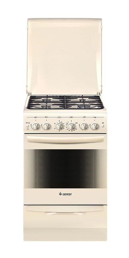 Газовая плита GEFEST ПГ 5100-02 0067,  газовая духовка,  бежевый [793087]