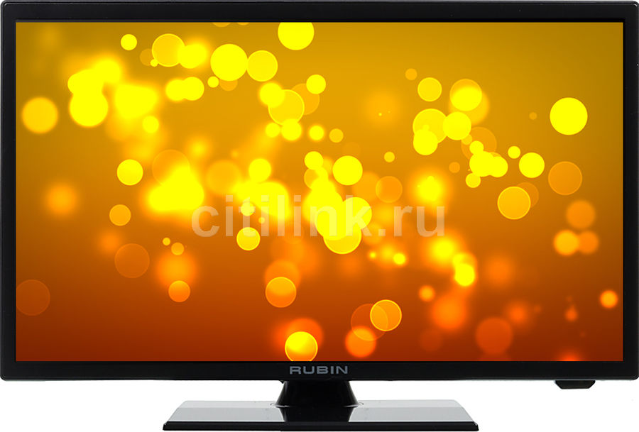 "LED телевизор RUBIN RB-19SE9  ""R"", 19"", HD READY (720p),  черный"