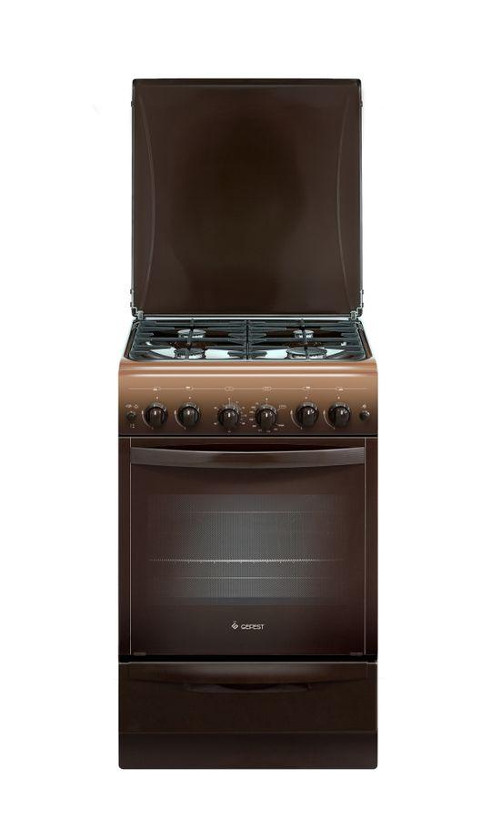 Газовая плита GEFEST ПГ 5100-02 0001,  газовая духовка,  коричневый