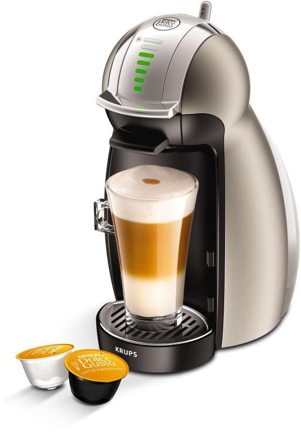 Капсульная кофеварка KRUPS Dolce Gusto KP160T10, 1600Вт, цвет: серый [8000035015]