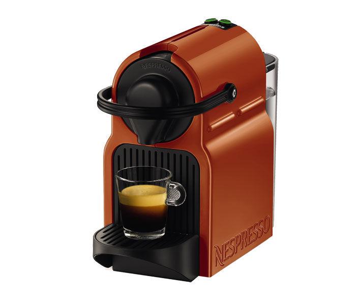 Капсульная кофеварка KRUPS Nespresso Inissia XN100F10, 1250Вт, цвет: оранжевый [8000035272]
