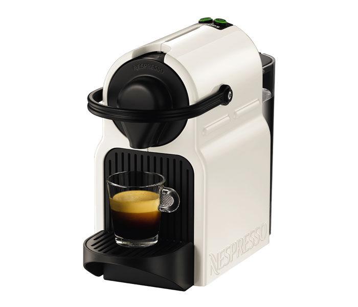 Капсульная кофеварка KRUPS Nespresso Inissia XN100110, 1250Вт, цвет: белый [8000035100]