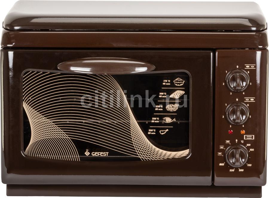 Электрическая плита GEFEST ЭП Нс Д 420 К19,  эмаль,  коричневый