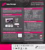 Оптический привод DVD-RW LG GP60NS60, внешний, USB, серебристый + черный,  Ret вид 8
