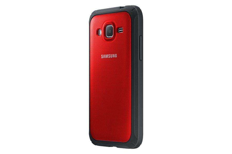Чехол (клип-кейс) SAMSUNG Protective Cover G360, для Samsung Galaxy Core Prime, красный [ef-pg360bregru]
