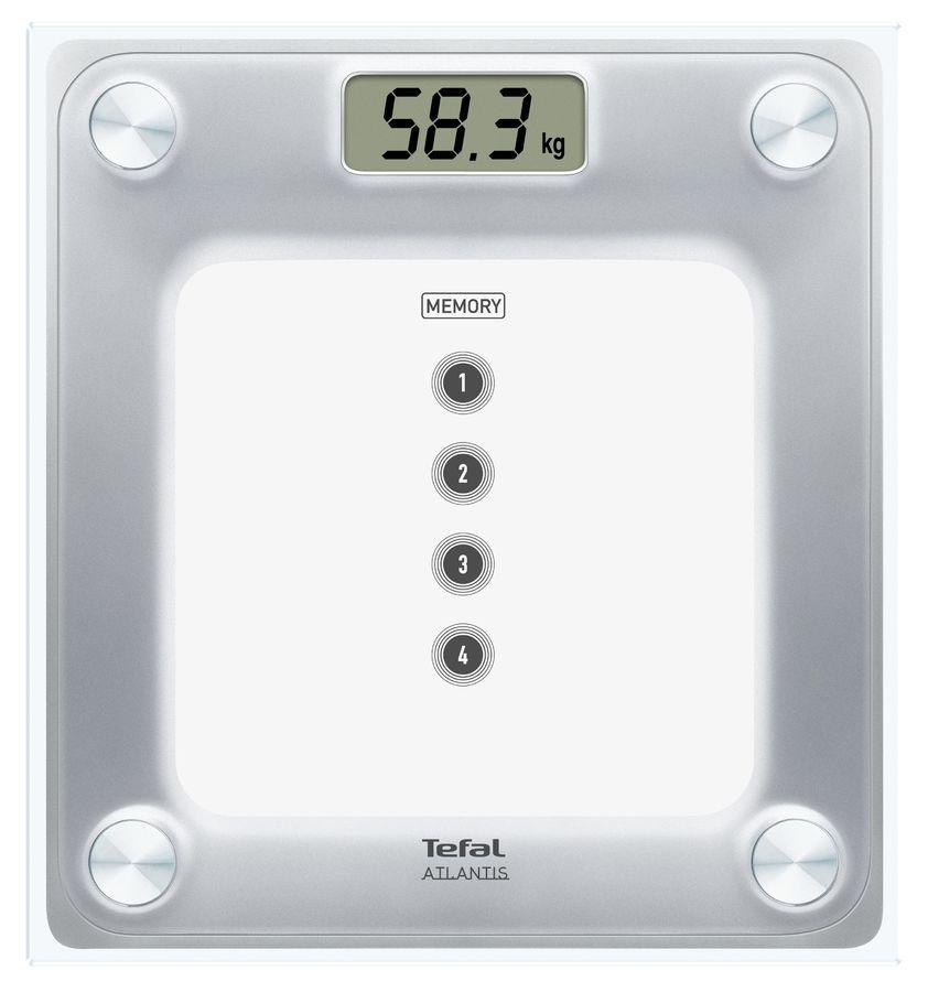 Весы TEFAL PP3020V1, до 160кг, цвет: белый [2100086098]