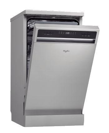 Посудомоечная машина WHIRLPOOL ADPF 851 IX,  узкая, серебристая