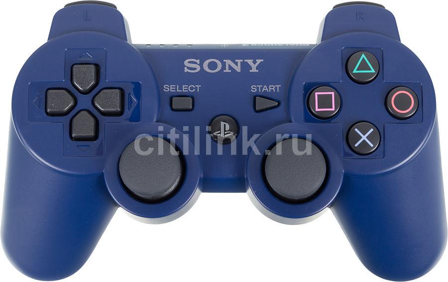 Беспроводной контроллер SONY Dualshock 3, для  PlayStation 3, синий [ps719846215]