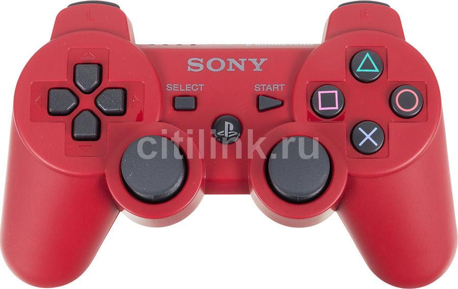 Беспроводной контроллер SONY Dualshock 3, для  PlayStation 3, красный [ps719846314]