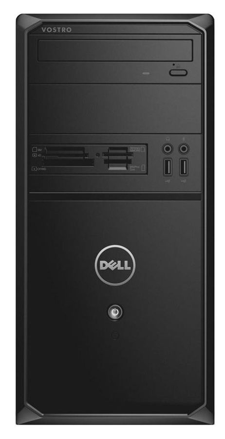 Компьютер  DELL Vostro 3900,  Intel  Core i5  4460,  DDR3 4Гб, 1000Гб,  nVIDIA GeForce GTX 745 - 4096 Мб,  DVD-RW,  CR,  Windows 7 Professional,  черный [3900-8086]
