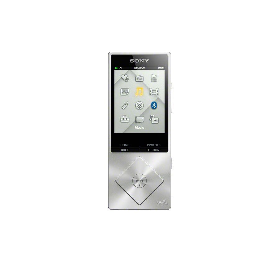 MP3 плеер SONY NWZ-A15 flash 16Гб серебристый [nwza15s.ee]