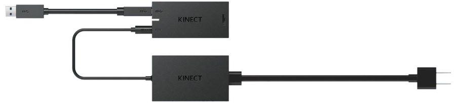 Адаптер MICROSOFT Kinect Adapter For Windows, для  PC, черный [9j7-00006]
