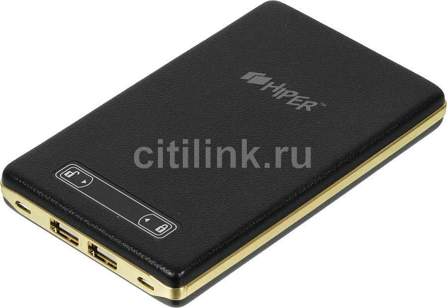 Внешний аккумулятор HIPER PowerBank XP17000,  17000мAч,  черный [xp17000 black]