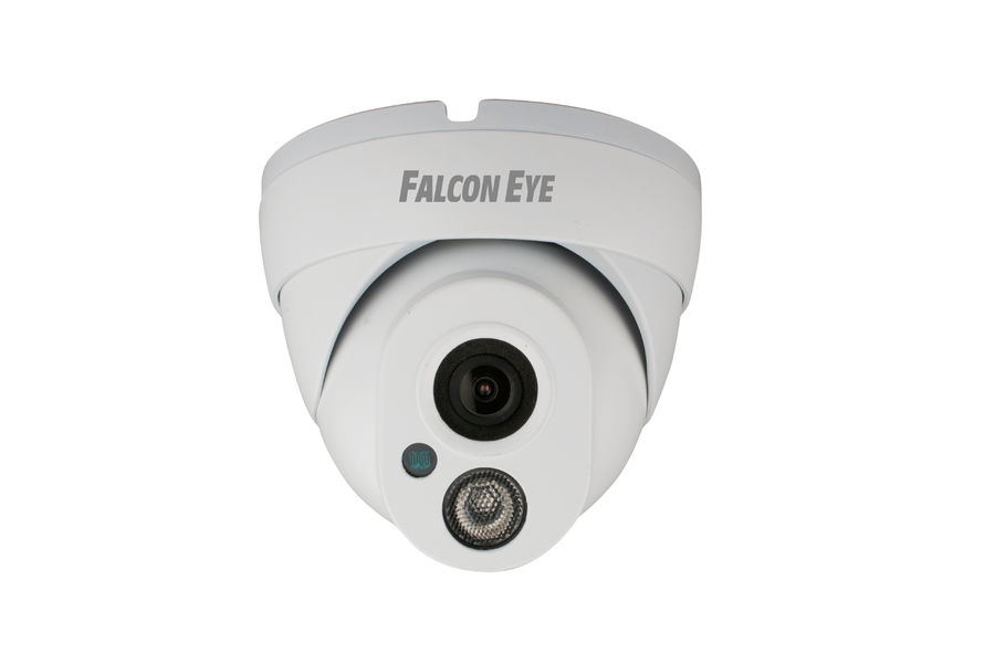 Видеокамера IP FALCON EYE FE-IPC-DL100P, белый ip камера falcon eye уличная fe ipc dl100p