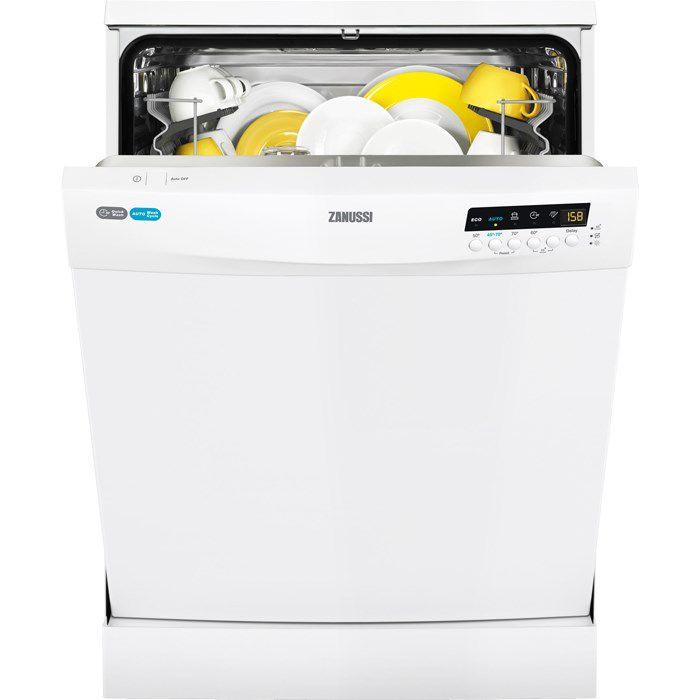 Посудомоечная машина ZANUSSI ZDF92600WA,  полноразмерная, белая