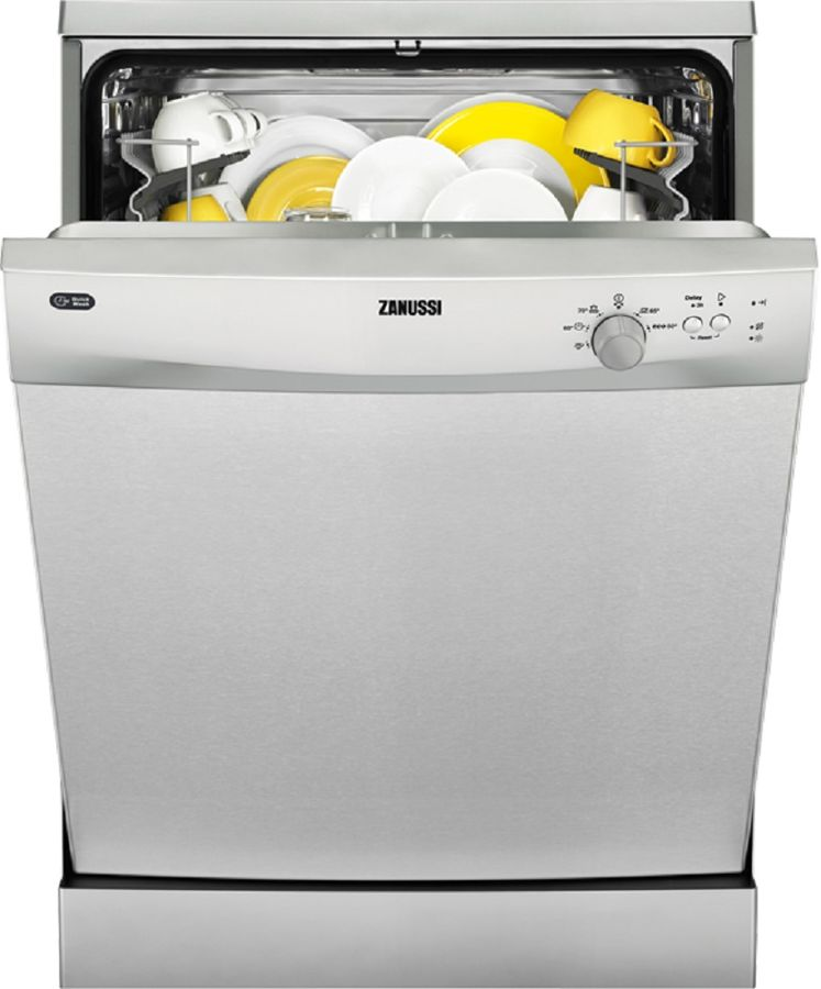 Посудомоечная машина ZANUSSI ZDF92300XA,  полноразмерная, серебристая