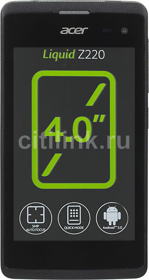 Смартфон ACER Liquid Z220  черный