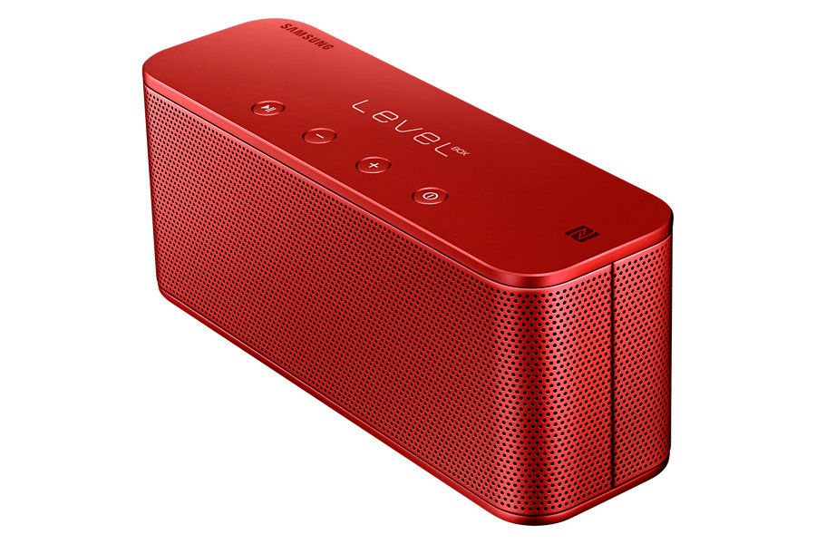 Портативные колонки SAMSUNG Level Box Mini,  красный [eo-sg900dregru]