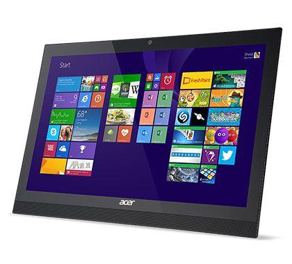 Моноблок ACER Aspire Z1-621, Intel Pentium N3540, 4Гб, 1000Гб, Intel HD Graphics, DVD-RW, Windows 8.1, черный [dq.syser.001]