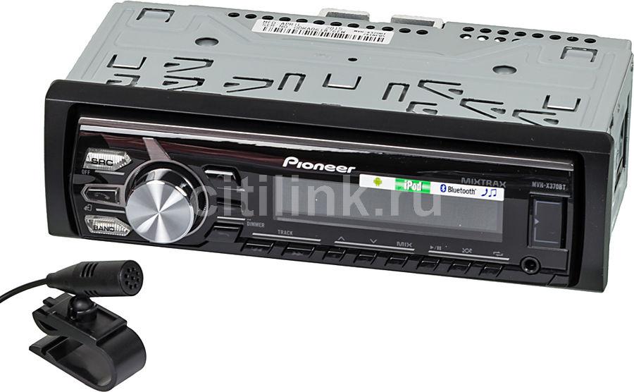 Автомагнитола PIONEER MVH-X370BT,  USB