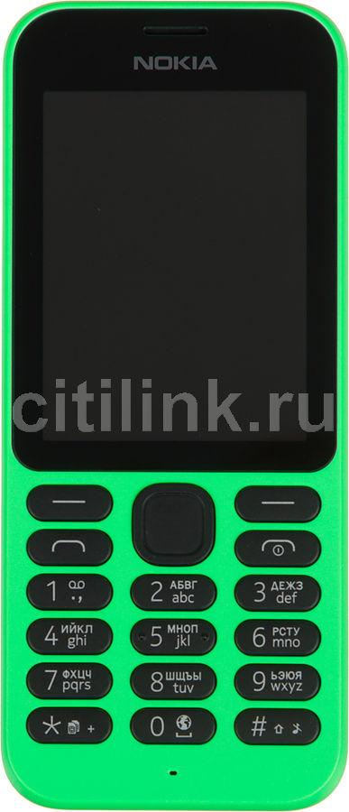 Мобильный телефон NOKIA 215 зеленый