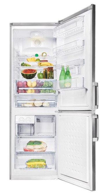 Холодильник BEKO CN 335220 X,  двухкамерный,  нержавеющая сталь