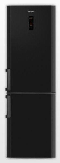Холодильник BEKO CN 335220 B,  двухкамерный, черный