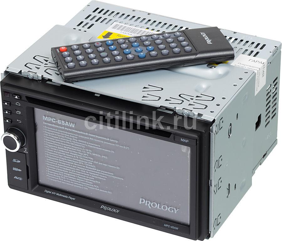 Автомагнитола PROLOGY MPC-65AW,  USB,  microSD