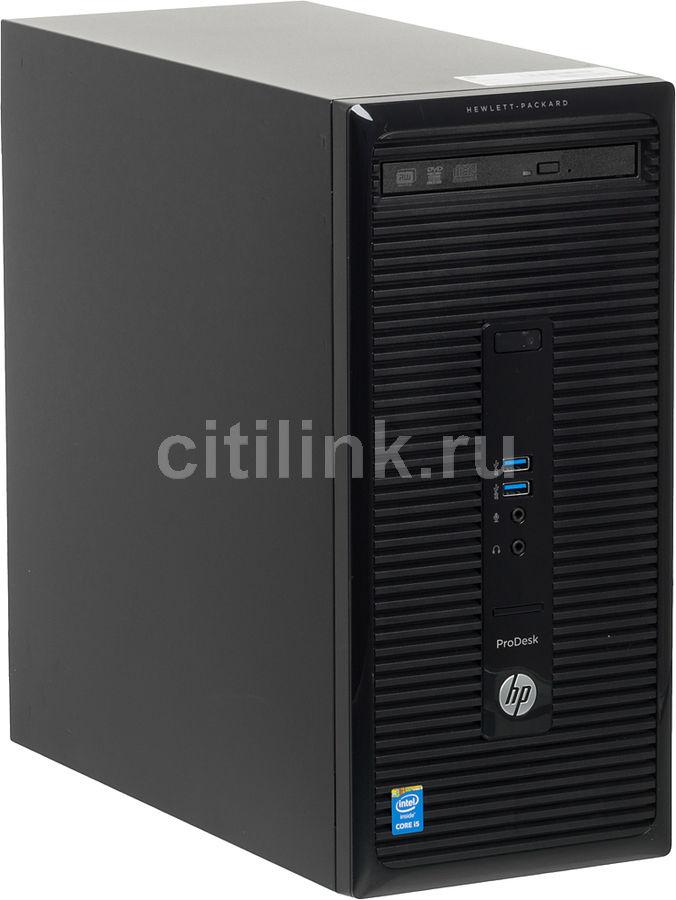 Компьютер  HP ProDesk 400 G2,  Intel  Core i5  4590S,  DDR3 4Гб, 500Гб,  Intel HD Graphics 4600,  DVD-RW,  Windows 7 Professional,  черный [k8k82ea]
