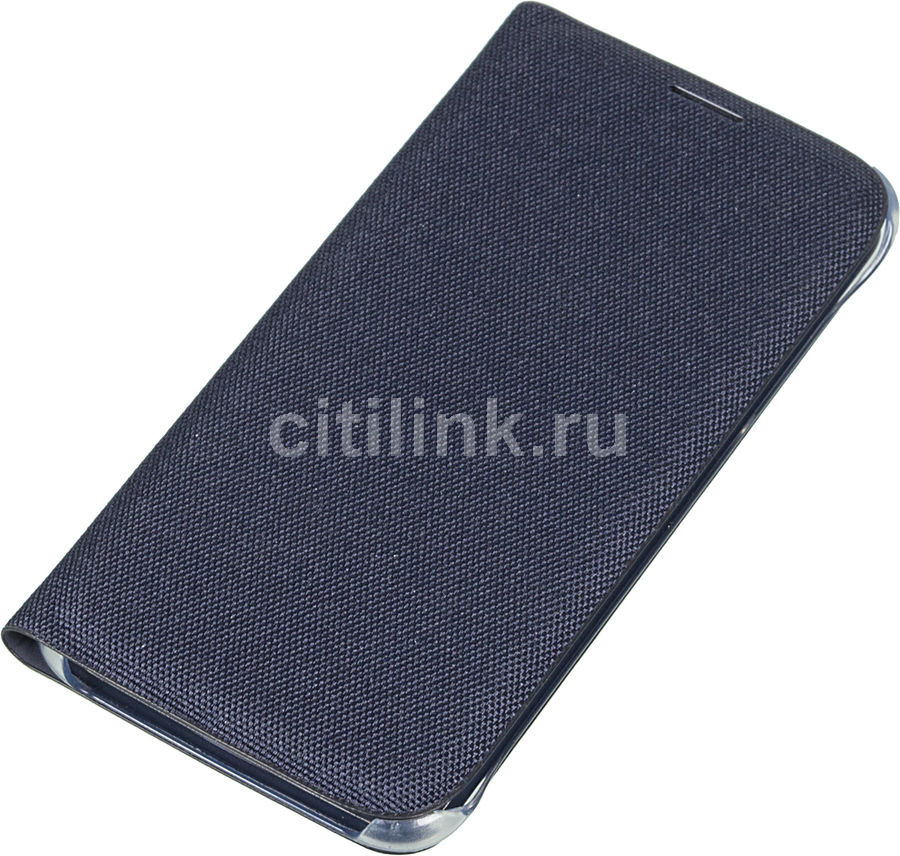 Чехол (флип-кейс) SAMSUNG Flip Wallet, для Samsung Galaxy S6, черный [ef-wg920bbegru]
