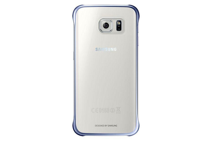 Чехол (клип-кейс) SAMSUNG Clear Cover, для Samsung Galaxy S6 Edge, черный [ef-qg925bbegru]
