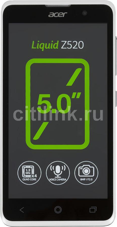 Смартфон ACER Liquid Z520  белый